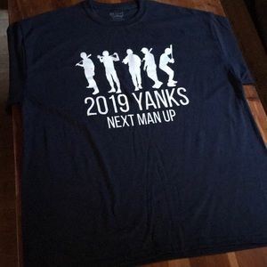 2019 New York Yankees Next Man Up T-shirt (L-2XL)
